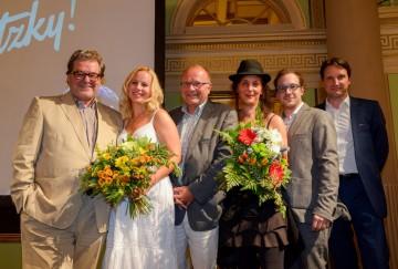 Präsentation des Filmes im Theater i.d. Josefstadt, August 2015